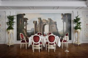O charmoso e elegante restaurante italiano Vanitas