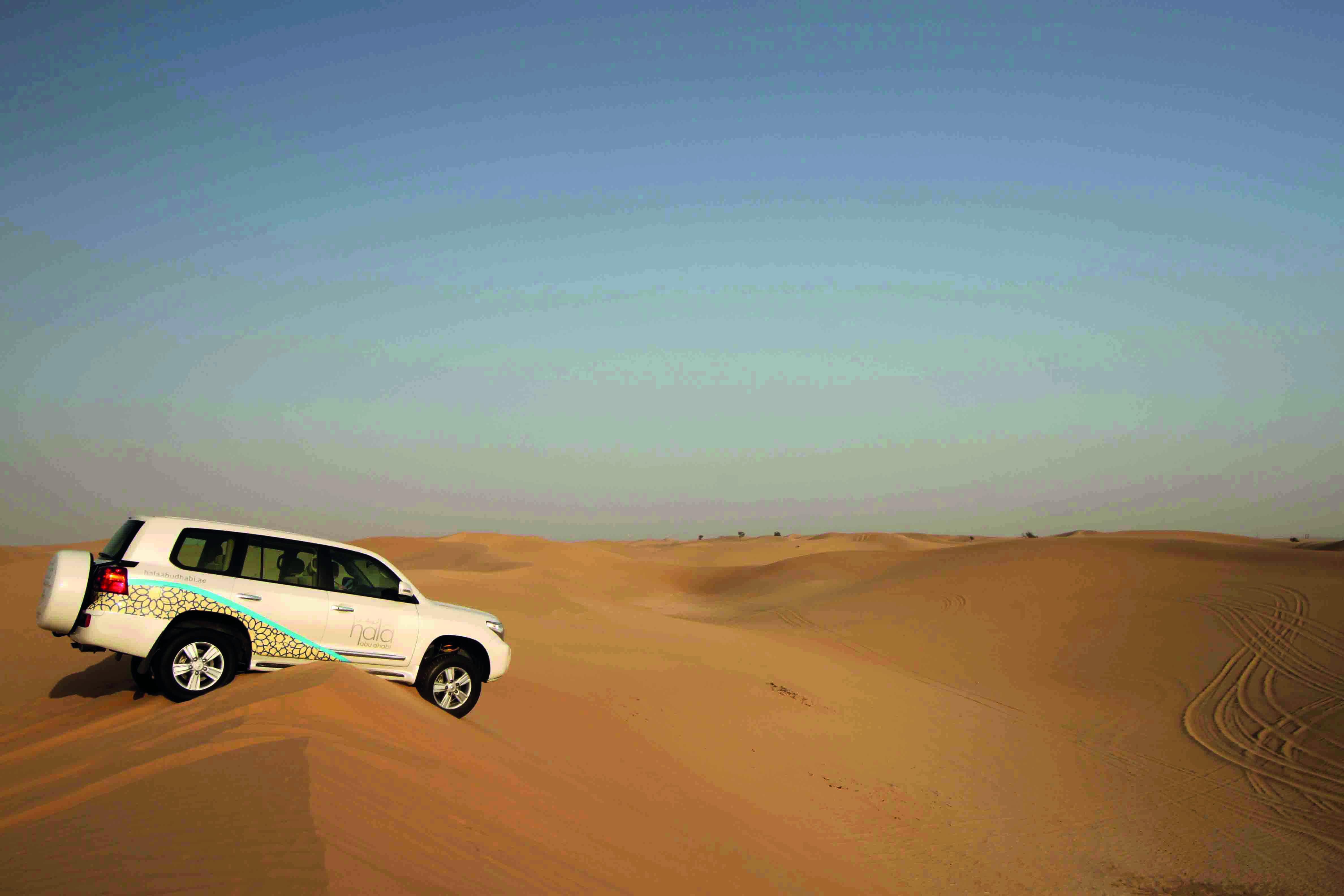 passeio no deserto abu dhabi